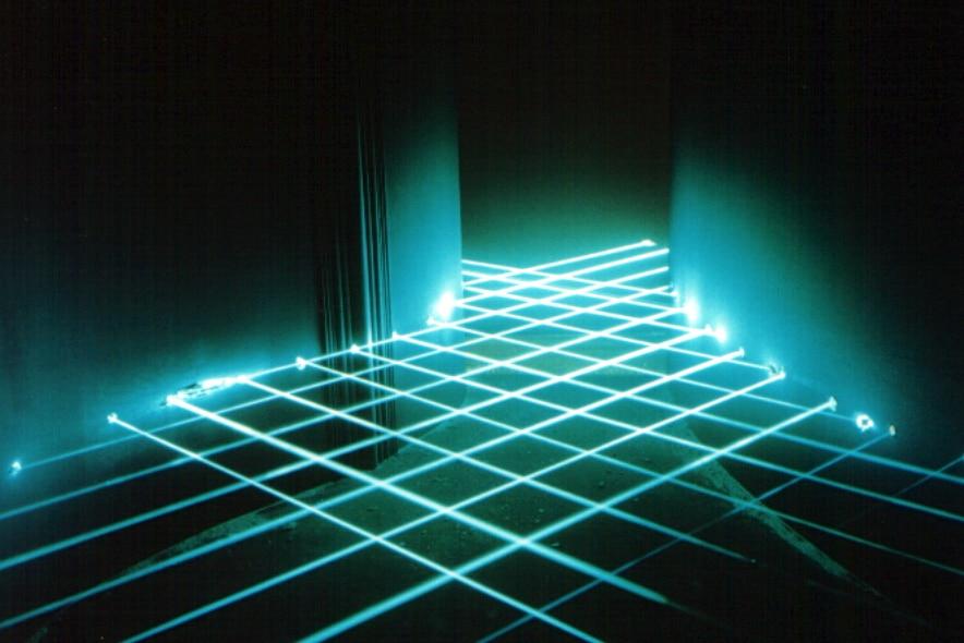Laser-Special mit dem Lasergitter