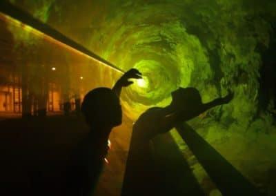 Lasereffekte Tanztheater