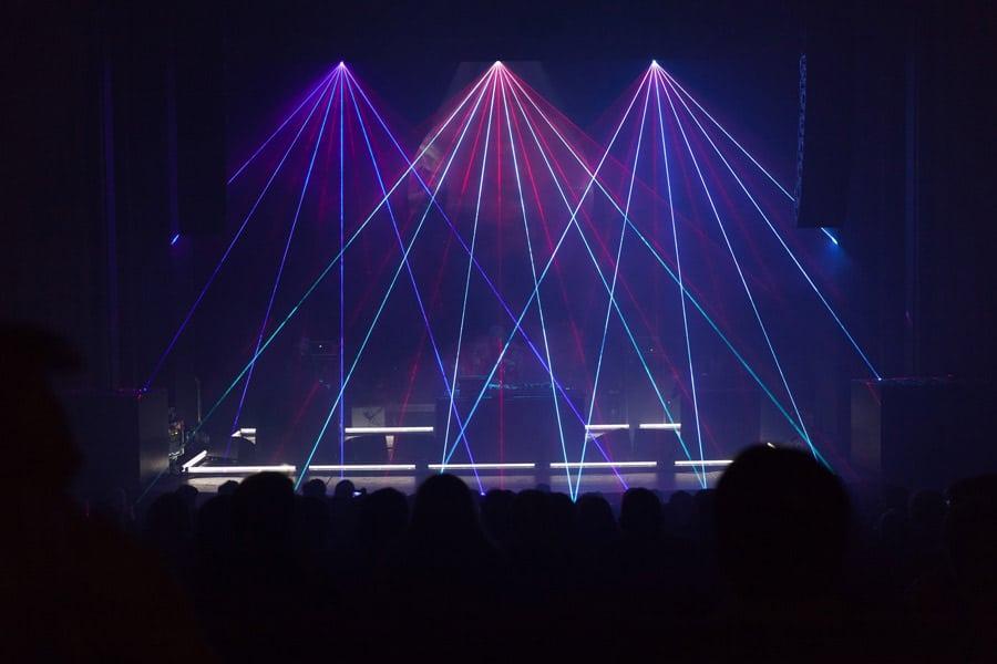 lasershow-buehne