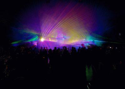 Lasershows für Firmenfeiern