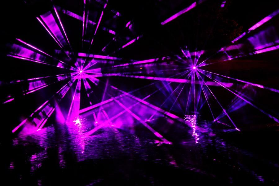 Lasershow-zum-Hafenfest