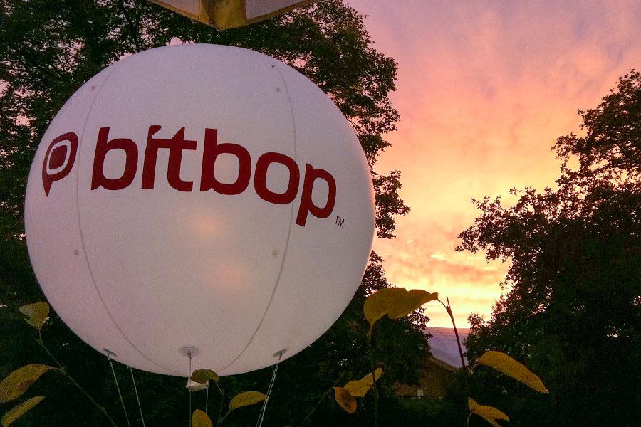 Leuchtballon Outdoor
