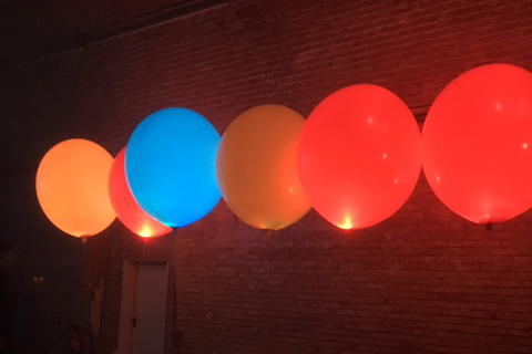 Farbige Ballons 4