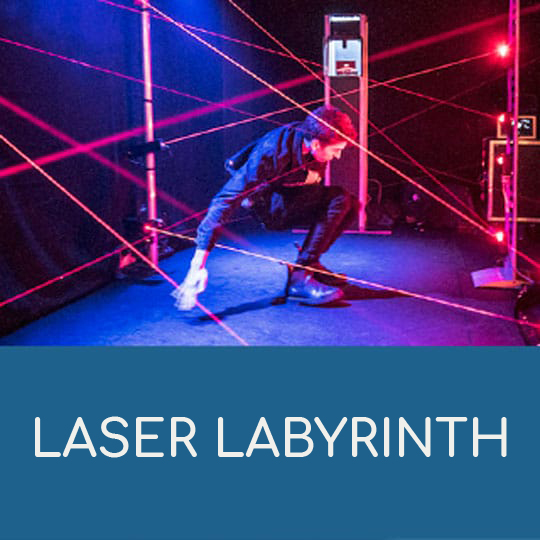 Laser Labyrinth der LASA Berlin